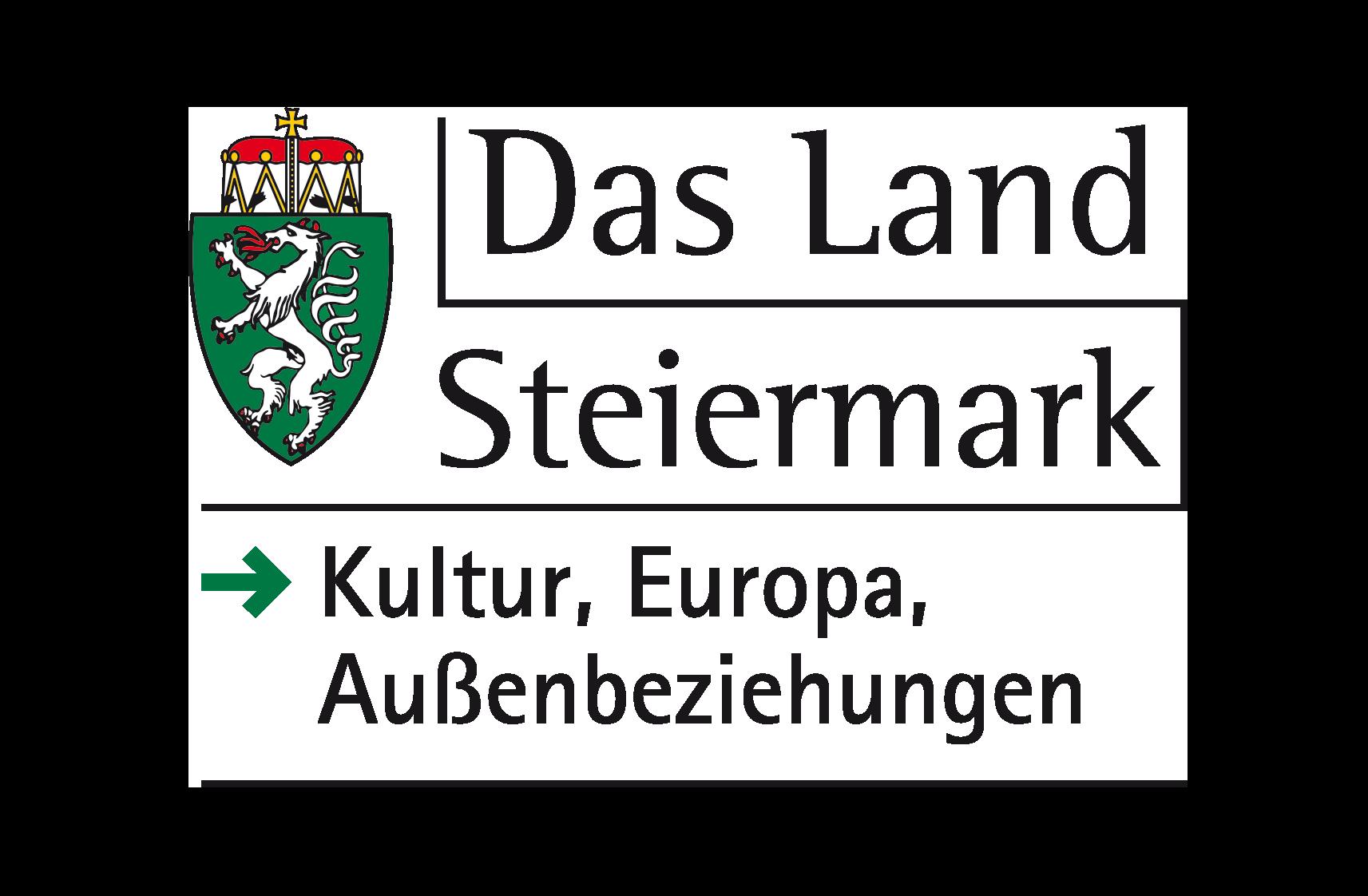 Logo Land Steiermark Fachabteilung Kultur, Europa und Außenbeziehungen