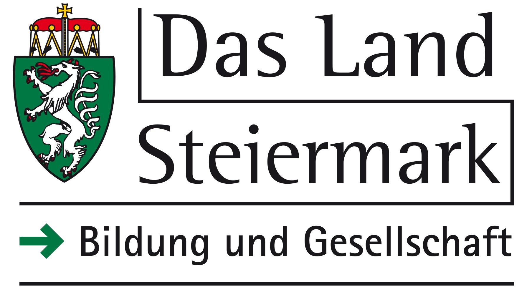 Logo Land Steiermark Fachabteilung Bildung und Gesellschaft